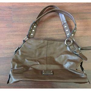 Relic Caramel Brown Hobo Style Shoulder Bag #346